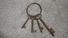 STYLISH X LARGE BUNCH OF CAST IRON DECORATIVE KEYS FOR HOME OR GARDEN JOHN LEWIS