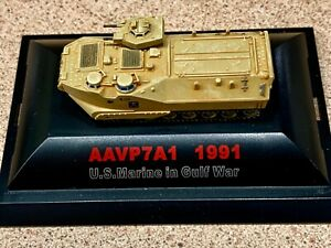 Trumpeter - AAVP-7A1 Amphibious - U.S. Marines - Gulf War 1991 - 1:144 Scale