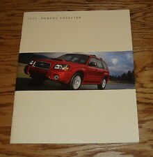 Original 2005 Subaru Forester Deluxe Sales Brochure 05