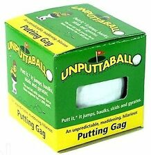 2 Unputtable Golf Balls joke golfing gag trick ball