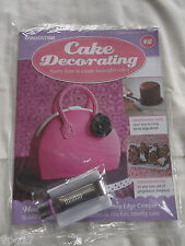 DeAGOSTINI CAKE DECORATING  MAGAZINE SCALLOP EDGE CRIMPER HANDBAG  No 12  NEW