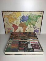 RISK The World Conquest Battlefield Board Game Parker Bros Vintage 1993 Complete