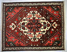 PERSIAN RUG Hand Knotted Traditional 100% Wool Carpet 206 X 161 cm