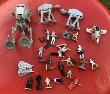 Lot Of Star Wars Micro Machines Action Fleet Figures
