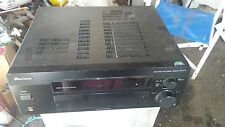 Vintage 100 w PIONEER MULTI CHANNEL HOME THEATER RECEIVER VSX-D711, Works Great
