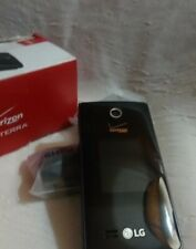 LG Terra VN210 Verizon Black Flip Phone - Excellent