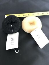 New 2 Large Urban Outfitters Free People Bun Maker Donut Rings Hair