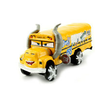 Disney Pixar Movie Cars 3 Diecast Crazy 8s Miss Fritter Bus 1:55 Loose Toy Car