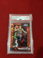 Trae Young 2018 19 Panini Prizm #78 Hawks RC rookie red ice Prizms PSA 10
