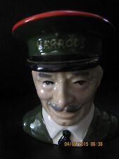 "Carlton Ware England Character Toby Jug Harrods Doorman 4 1/4"""