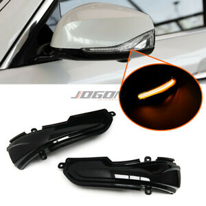 LED Dynamic Side Mirror Sequential Light For Infiniti Q30 Q50 Q60 Q70 QX50 QX70