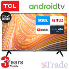 """2020 TCL 40"""" Inch Full HD LED Smart TV Netflix Android 40S615 & 3 Yr Warranty"""