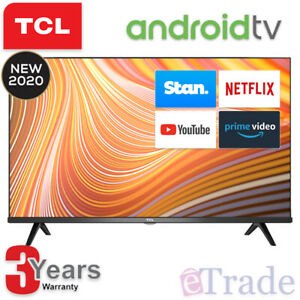 "2020 TCL 40"" Inch Full HD LED Smart TV Netflix Android 40S615 + 3 Yr Warranty"