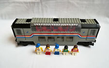 LEGO Eisenbahn 9V Metroliner 4547 Doppeldecker Panoramawagen