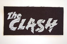 "The Clash Cloth Patch Sew On Badge Punk Ramones Rock Approx 6""X3"" (CP7)"
