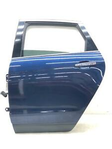 2010-2012 CADILLAC SRX LEFT REAR DOOR SHELL BLUE METALLIC (GAP) OEM *SCRATCHES*