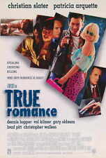 "TRUE ROMANCE Movie Poster [Licensed-New-USA] 27x40"" Theater Size"