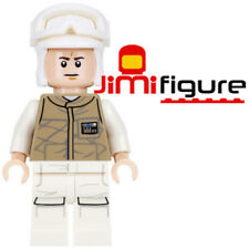 NEW LEGO Minifigure Hoth Rebel Trooper Star Wars 75098 Genuine Dark Tan Uniform