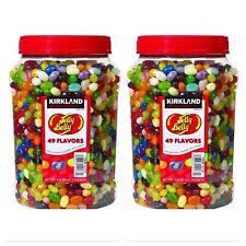 TWO Original Gourmet Jelly Belly Bean 49 Flavors Kirkland 64 oz 4LB each Kosher