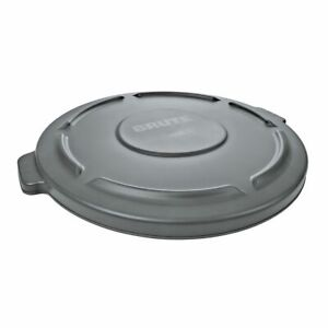 Rubbermaid FG264560GRAY BRUTE Gray Lid for 44 Gallon Round Containers