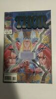 The Mighty Thor #475 June 1994 Marvel Comics AVENGERS Holo FOIL Embossed Edition
