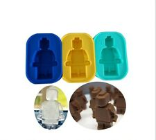 Silikonform Tortendeko Fondant Seifenform Mold Fimo Schokolade Eis Lego Steine