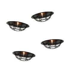 10ct Outdoor String Lights Black Cage - Threshold (F1)