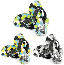 MENS URBAN BEACH FLIP FLOPS SANDALS SIZE UK 6 - 11 POOL SEA SWIM CHUNKY FW551