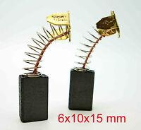 Carbon Brushes 6x10x15/16 PTM PRO SAW 210MM MITRE PROSAW Sliding Power Tools MK3
