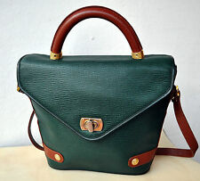 Philippe Charriol Paris Designer Leather Handbag Shoulder Bag Purse Authentic