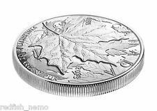 2013 Canada Fine Silver Maple Leaf 25th Anniversary High Relief Piedfort Coin