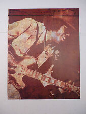 Johnny Guitar Watson Dr Feelgood Guitarist 12x9 Coffee Table Book Photo Page