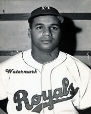 1947 HOFer Roy Campanella AAA Montreal Royals Black & White 8 X 10 Photo Pic