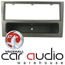 Vauxhall Vectra 2002 - 2005 Car Stereo Single DIN Facia Panel Gun Metal Finish