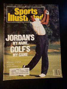 Vintage August 14 1989 Sports Illustrated Michael Jordan Golf Chicago Bulls