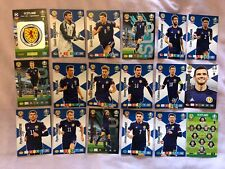 PANINI ADRENALYN XL EURO 2020 FULL TEAM SET OF 18 SCOTLAND CARDS MINT