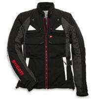 DUCATI Revit STRADA Textiljacke Tex Jacke Jacket Gore Tex schwarz grau NEU !!