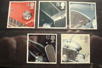 GB 1996 Commemorative Stamps~Sports Cars~Fine Used Set~UK Seller