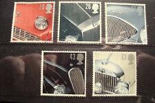 GB 1996 Commemorative Stamps~Sports Cars~Fine Used Set~UK Seller