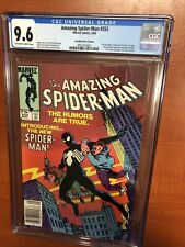 Amazing Spider-Man (1984) #252 (CGC 9.6) CPV  First App Of The Black Costume