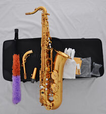Professional Electrophoresis Gold C Melody sax saxophone high F# with case
