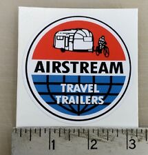 Vintage Airstream round trailer Rv sticker decal