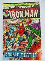 Marvel Comics Iron Man # 58 May 1973 Mandarin Unicorn Bronze Age George Tuska