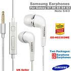 100% Genuine Earphones Headphones for Samsung Galaxy S3 S4 S5 S6 S7 Note 4/3