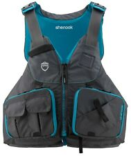 NRS WOMENS  Shenook XS/M Charcoal Fishing PFD LIFEJACKET