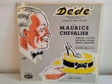 Operette Dédé MAURICE CHEVALIER MARINA HOTINE 163078 79