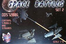 SPACE BATTLES SET №2 1/72 DDS 72006