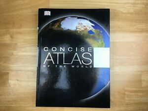 Concise Atlas Of The World - Andrew Heritage - Hardback Book.