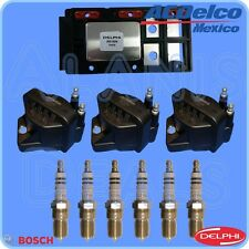 Delphi Ignition Control Module +3 ACDelco Ignition Coils + 6 4304 Spark Plugs