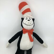 "Dr Seuss CAT IN The Hat Plush Toy 21"" Used Very Clean Condition Excellent"